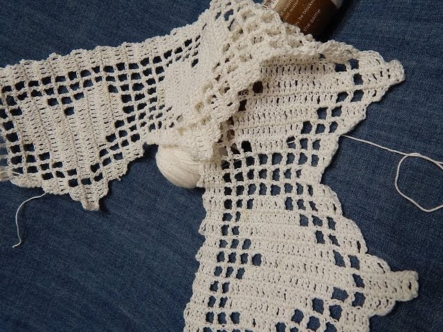Orilla # 12 Crochet de Corazones