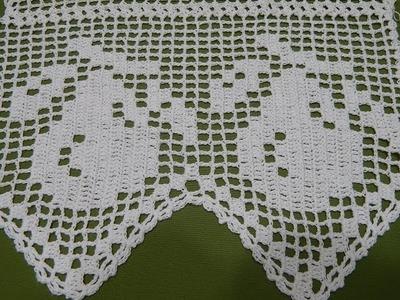 Orilla # 15 Peras en Crochet parte 2 de 2