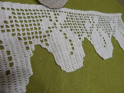 Orilla # 16 de Manzanas Crochet