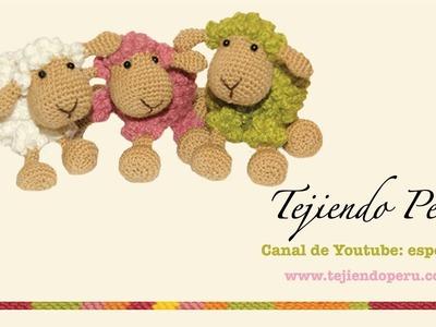 Ovejas tejidas a crochet (amigurumi) Parte 1: tejiendo el cuerpo