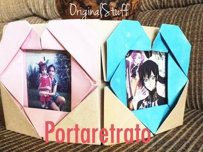Portaretrato con Corazón [Origami] [HD] - Original Stuff