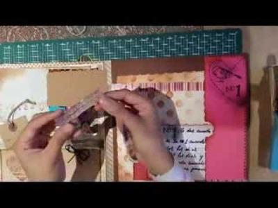 Proyecto Scrapbook, tarjeta de Agradecimiento