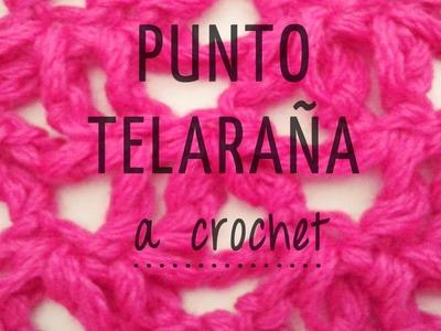Punto Telaraña a Crochet - PASO A PASO