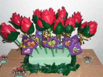 ROSAS DE GLOBOS ** BALLOON ROSES