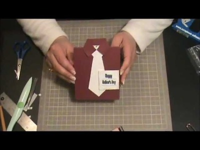 Scrapbooking con Lily - Tarjeta Dia del Padre 3