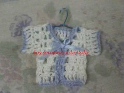 Souvenirs tejidos al crochet