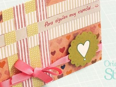 Tarjeta para regalar :) [Scrapbook] - Original Stuff