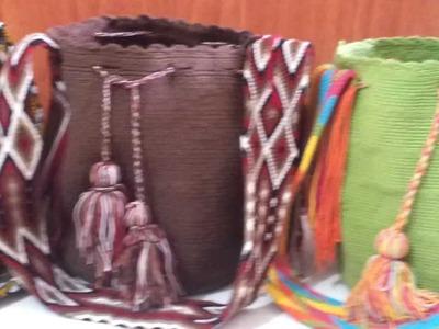 Tejidos crochet en bolsos wayuu en macramé: MOCHILAS WAYUU en venta