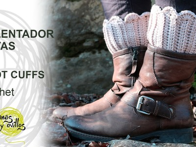 Tutorial Calentadores Botas Crochet o Ganchillo