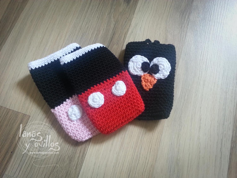 Tutorial Funda Smartphone a Crochet o Ganchillo Paso a Paso en Español