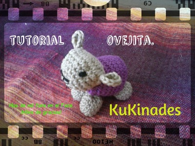 TUTORIAL OVEJITA DE CROCHET.