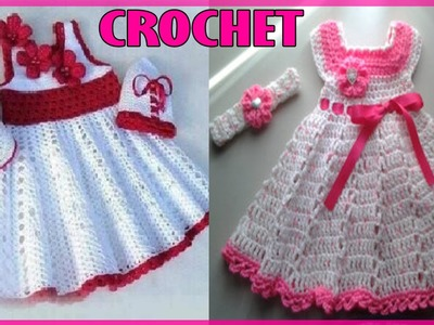 Vestidos Para Niña Bebe - Tejidos a Crochet