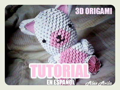 3D Origami Oso (Tutorial) - Alex Avila
