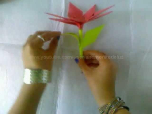 ADORNO DE NAVIDAD : Noche buena de origami