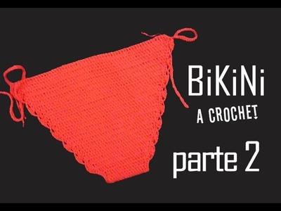 BiKiNi a CROCHET (ganchillo) - PARTE 2 DE 3
