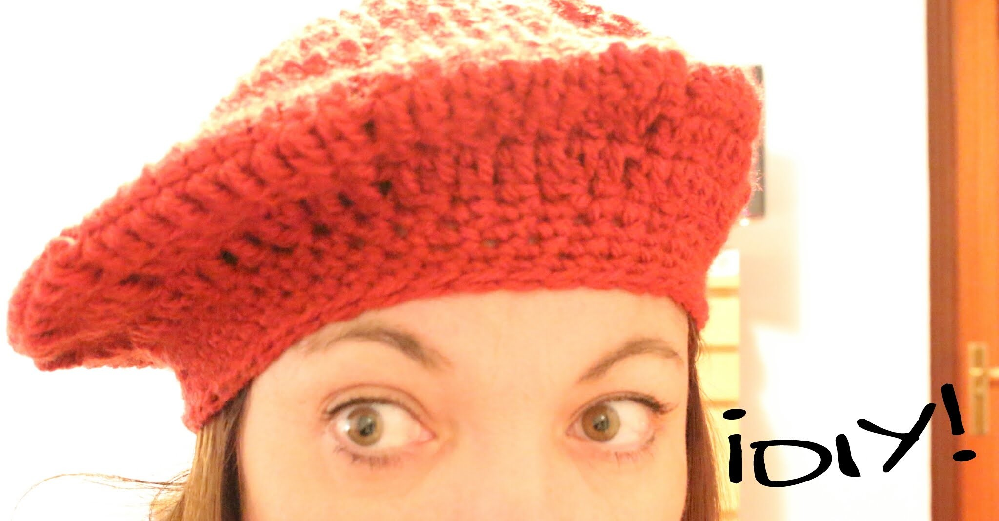 Boina a crochet paso a paso ¡TODAS LAS TALLAS! To knit cap