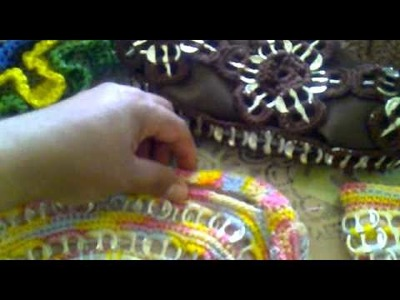 Bolsas tejidas en crochet con anillos de latas 210411