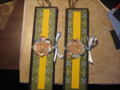 Como hacer munecas japonesas en origami