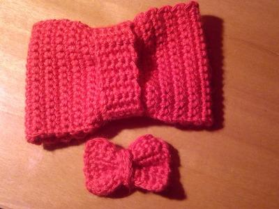 Como hacer un lazo a ganchillo o crochet