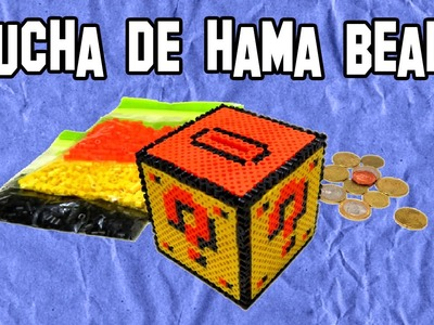 Como Hacer Una Hucha De Hama Beads | Mario Bros | DIY