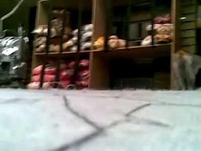 Corte de muñecos y babuchas