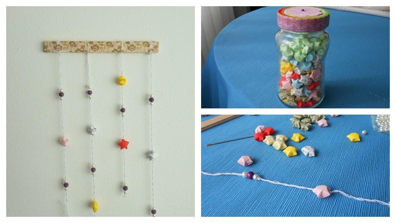 Decoración | Estrellas de Origami y cómo decorar con ellas | Mundo@Party