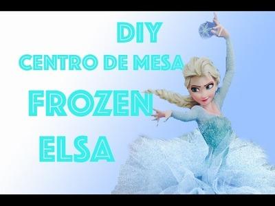 DIY Frozen centro de mesa facil