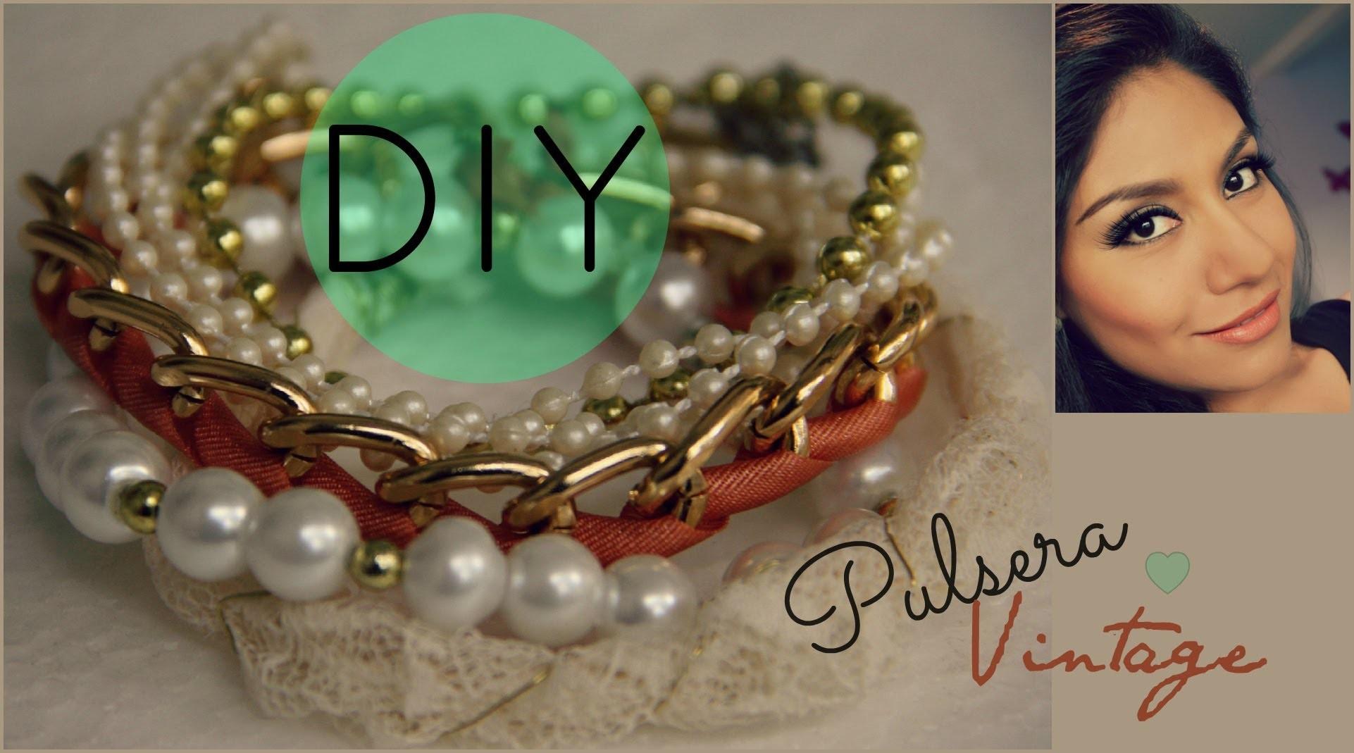 DIY Vintage Bracelet