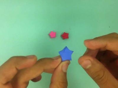 Estrella de origami - Manualidades de papel
