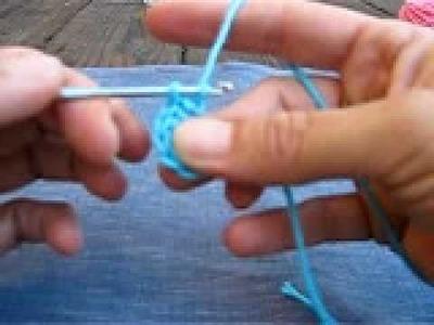 Flor crochet pequeña 1.3 Zurdos