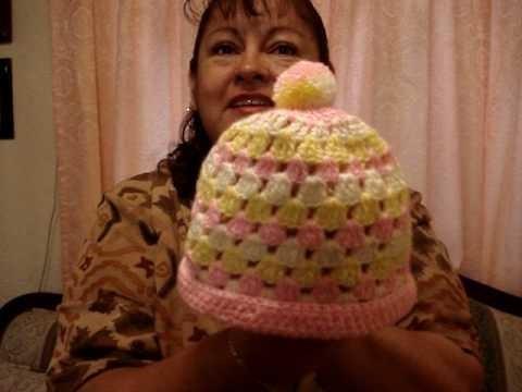Gorritos tejidos a crochet