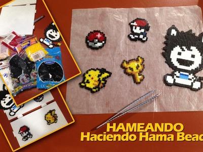 Hameando: Haciendo figuritas nintenderas de Hama Beads - Fails incluidos