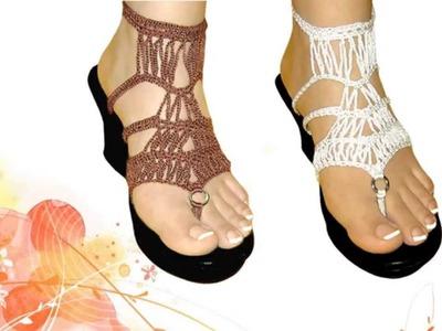 MARIER - Sandalias ► Calzado Tejido a Crochet