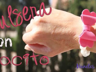 Pulsera con lacito | Tutorial DIY