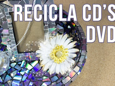 Recicla CD's Y DVD's  | Tres ideas de reciclaje DIY
