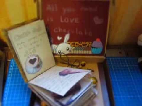 Scrapbook, concurso chocolate de Dannye Naara