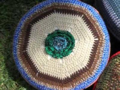 T&P almohadones hippies- Crochet. Ganchillo