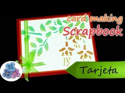 Tarjetas Cumpleaños Scrapbook *Card Making* Tarjetas Felicitacion Día de la Madre Pintura Facil