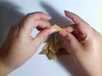 Tutorial: Árbol de Navidad en origami modular | Mundo@Party
