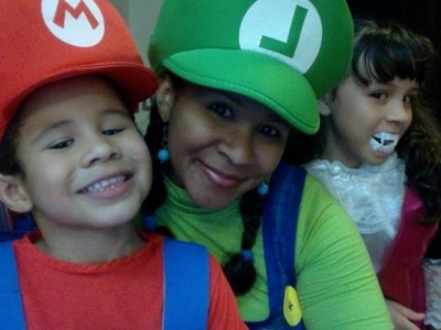 Tutorial - Disfraz de Luigi o Mario