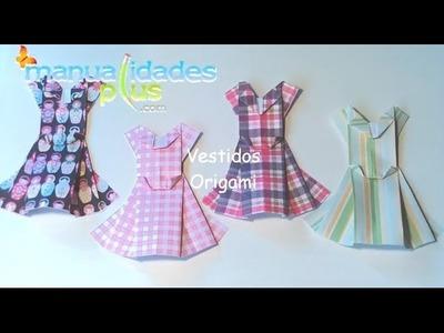 Vestidos Origami Paso a Paso