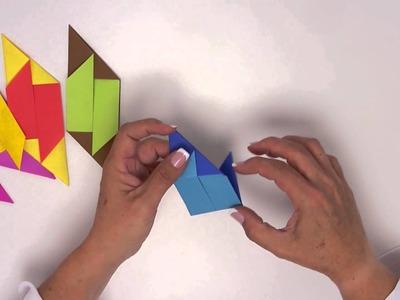 Arte con papel - Videocápsula 3 - Cubo de origami