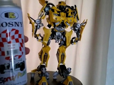 Bumblebee en papercraft
