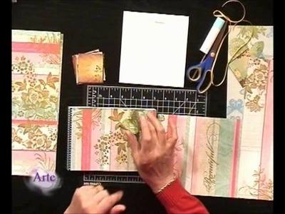 Cómo decorar con técnica de scrapbooking
