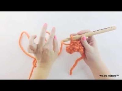 Cómo hacer punto Camel en crochet - Aprende crochet