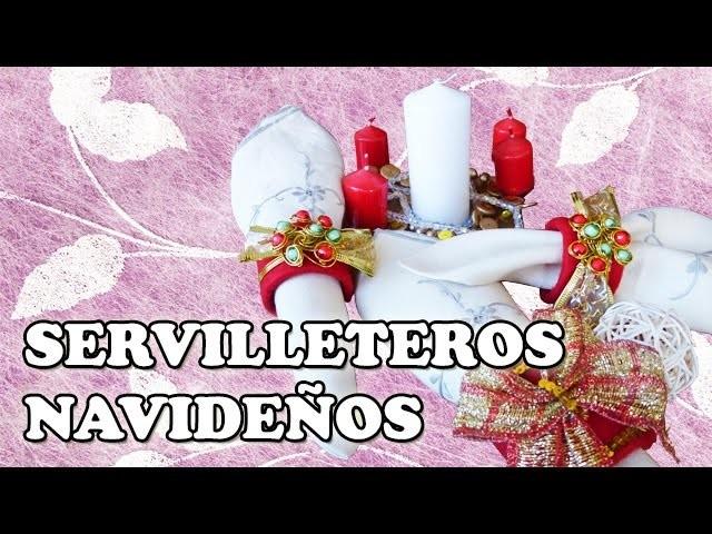 Cómo Hacer Servilleteros Navideños | DiY Tutorial