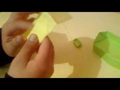 Como hacer un sofa muy facil ,origami