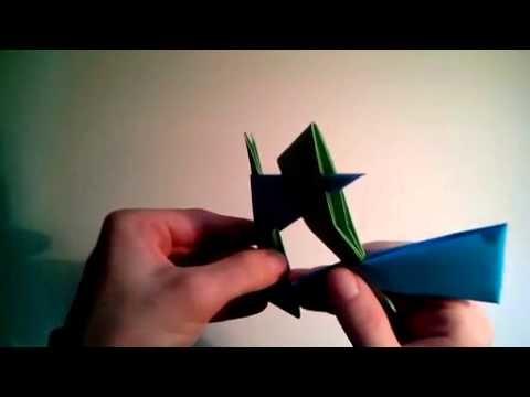 Como hacer una estrella ninja de papel arma de origami  [Origami - Papiroflexia]
