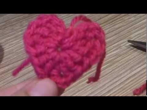 ¿Cómo tejer un corazón a crochet?