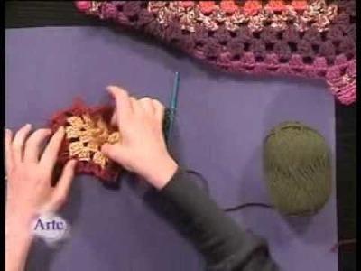 Cómo tejer un sacón multitalle al crochet